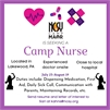 Medical Professional for Small Camp